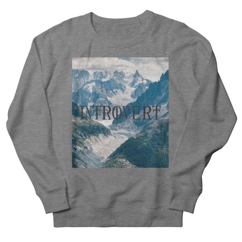 Introvert Women's French Terry Sweatshirt by True To My Wyrd's Artist Shop