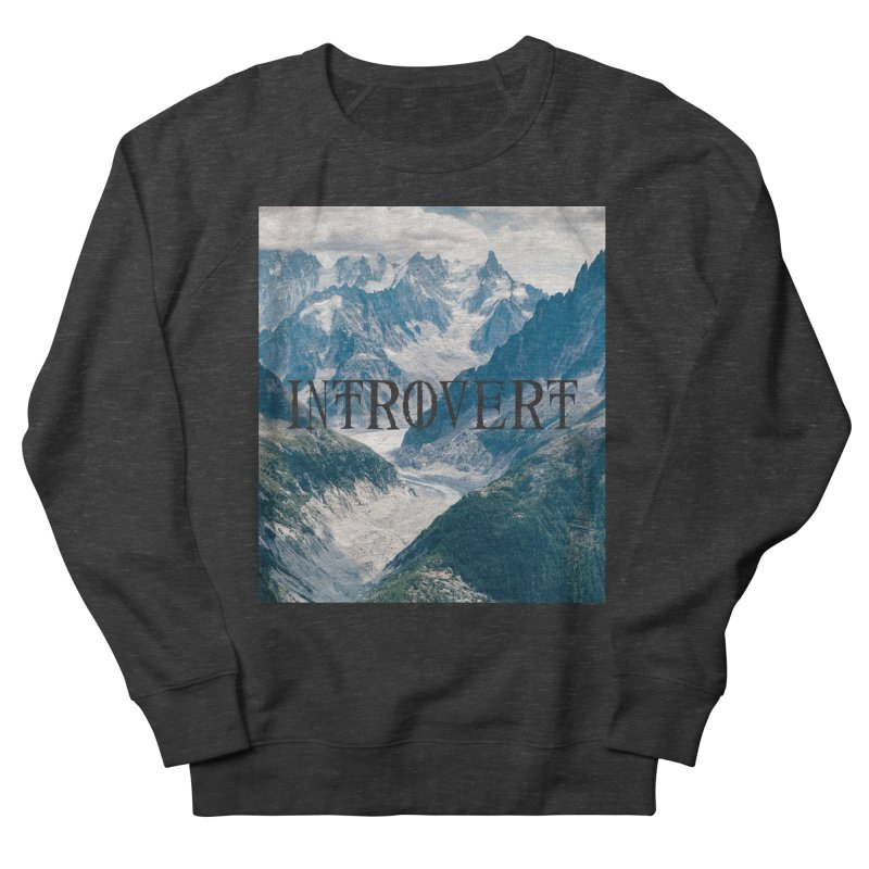 Introvert Men's French Terry Sweatshirt by True To My Wyrd's Artist Shop