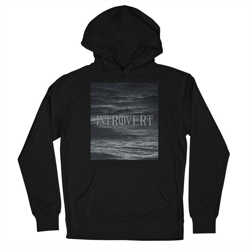 Introvert Men's French Terry Pullover Hoody by True To My Wyrd's Artist Shop