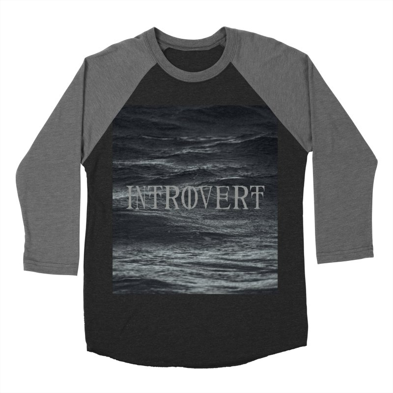 Introvert Women's Baseball Triblend Longsleeve T-Shirt by True To My Wyrd's Artist Shop