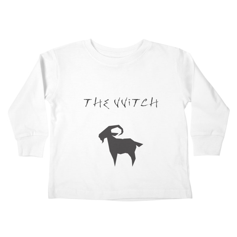 The VVitch Kids Toddler Longsleeve T-Shirt by True To My Wyrd's Artist Shop