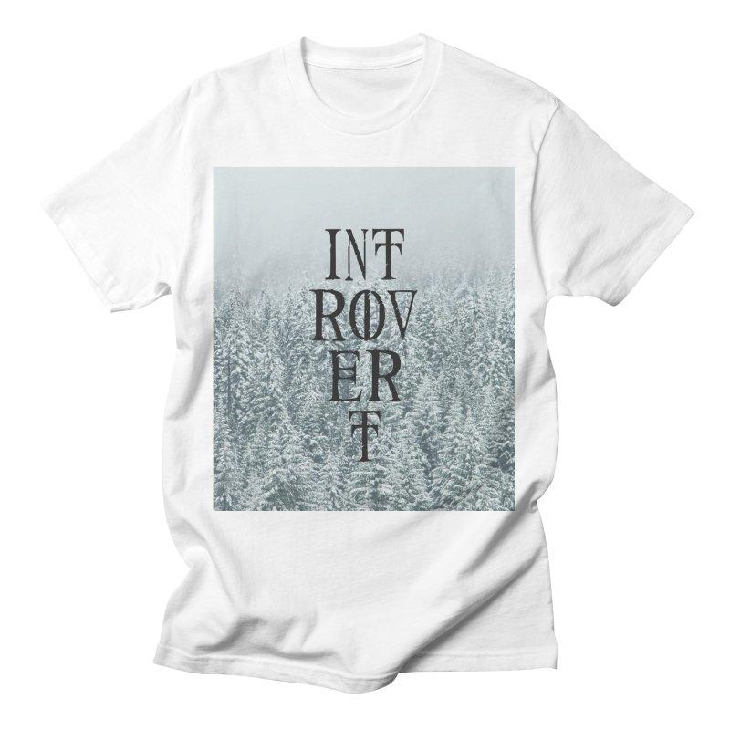 Introvert Men's T-Shirt by True To My Wyrd's Artist Shop