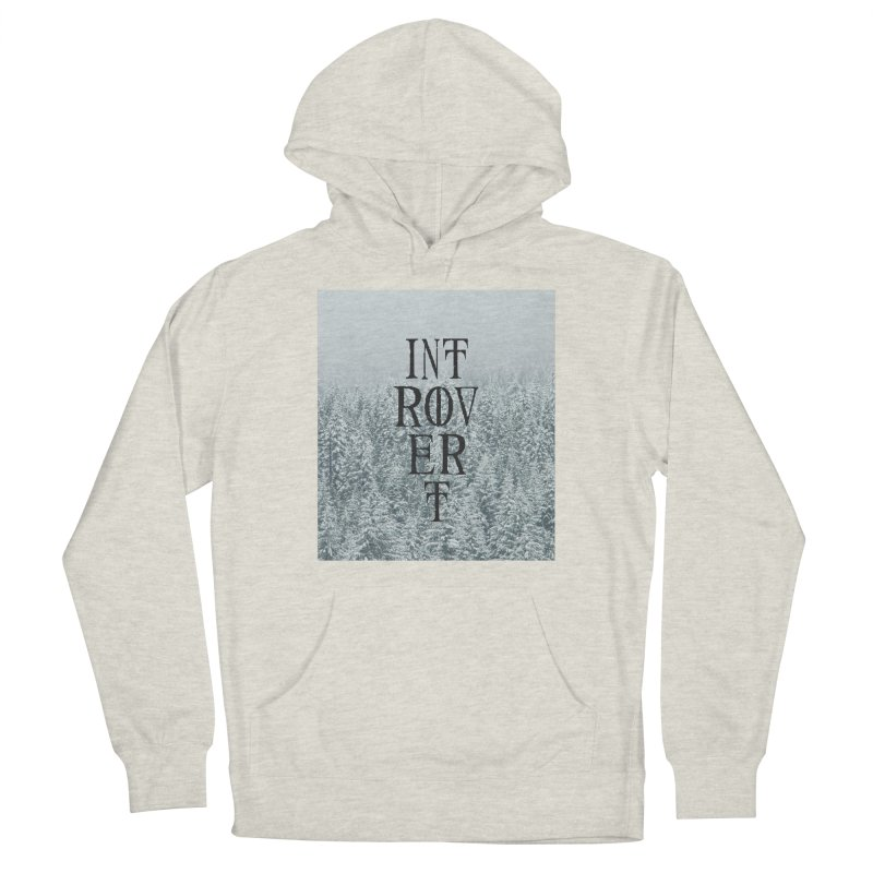 Introvert Men's Pullover Hoody by True To My Wyrd's Artist Shop