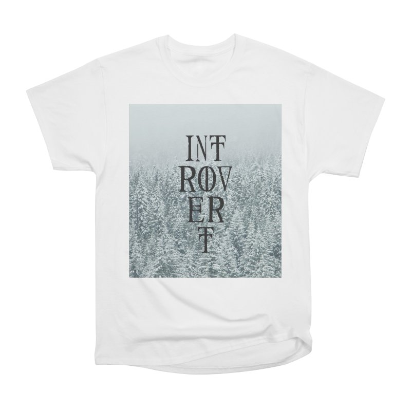 Introvert Men's Heavyweight T-Shirt by True To My Wyrd's Artist Shop