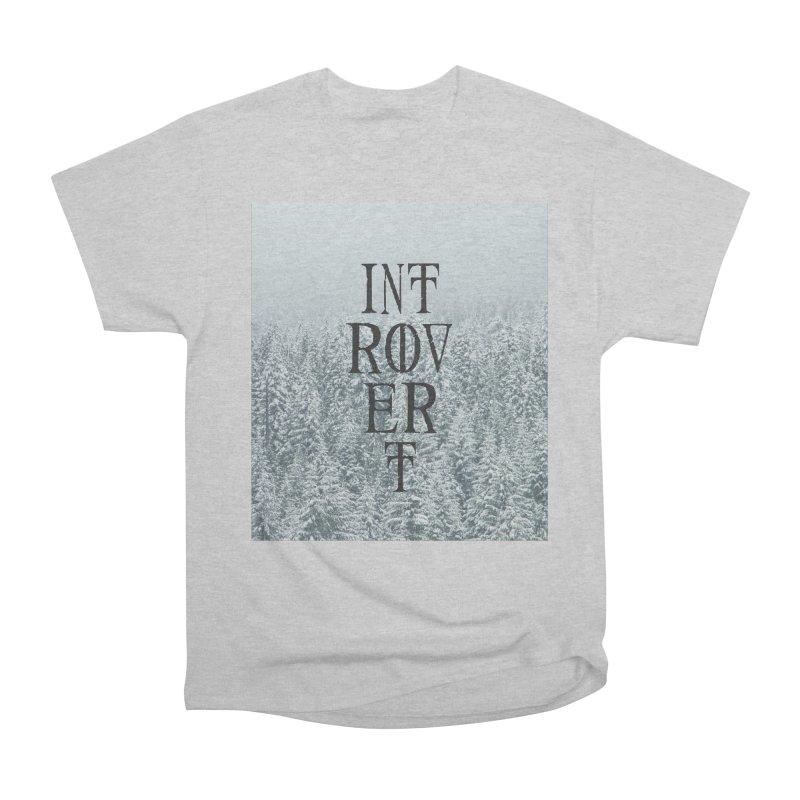 Introvert Men's Heavyweight T-Shirt by True To My Wyrd's Artist Shop