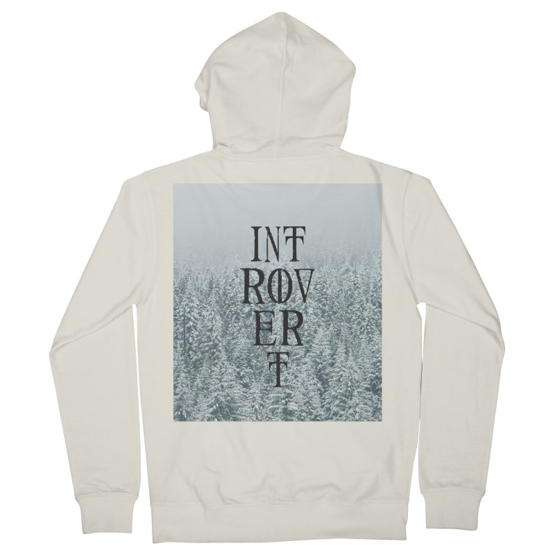 Introvert Men's Zip-Up Hoody by True To My Wyrd's Artist Shop