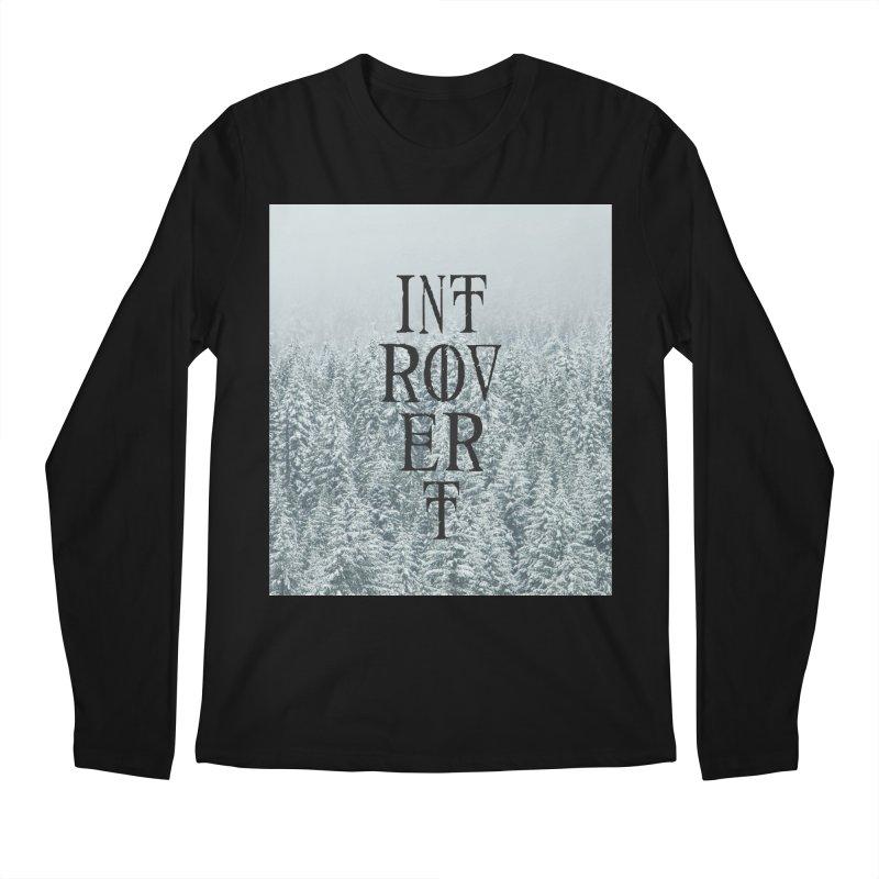 Introvert Men's Regular Longsleeve T-Shirt by True To My Wyrd's Artist Shop