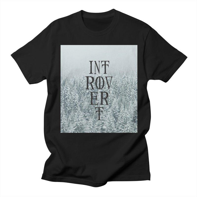 Introvert Men's Regular T-Shirt by True To My Wyrd's Artist Shop