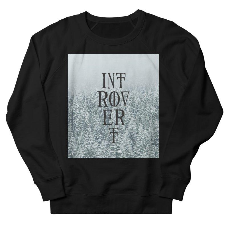 Introvert Men's French Terry Sweatshirt by True To My Wyrd's Artist Shop