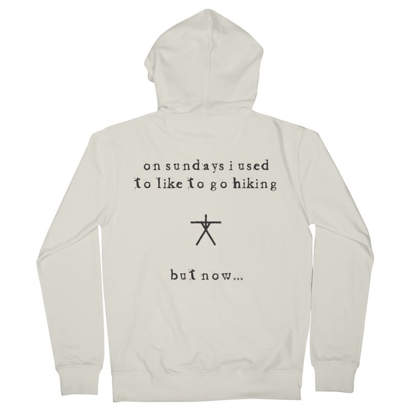 The Blair Witch (On Sundays) Women's French Terry Zip-Up Hoody by True To My Wyrd's Artist Shop