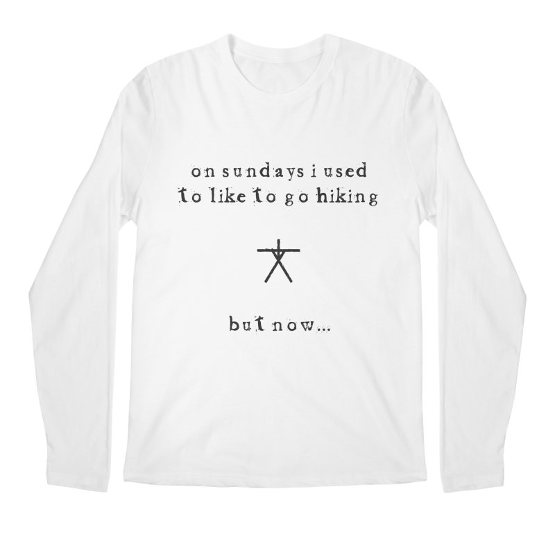 The Blair Witch (On Sundays) Men's Regular Longsleeve T-Shirt by True To My Wyrd's Artist Shop