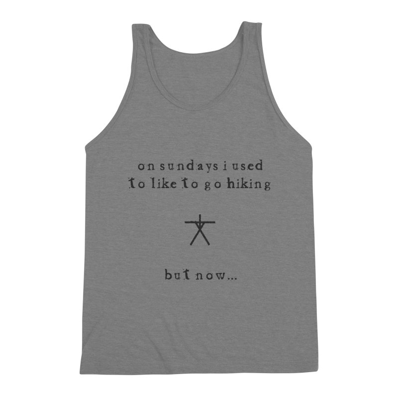 The Blair Witch (On Sundays) Men's Triblend Tank by True To My Wyrd's Artist Shop
