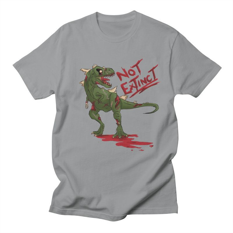Zombie Rex Men's T-Shirt by xanderlewis's Artist Shop