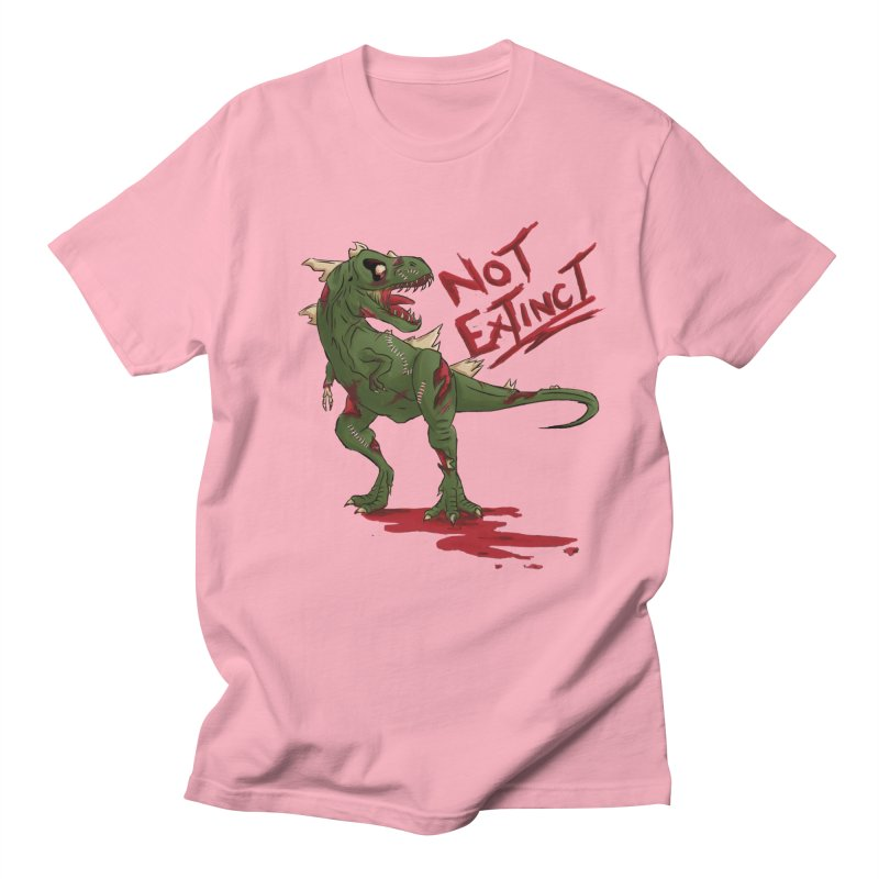 Zombie Rex Men's T-Shirt by xanderlewis's Artist Shop