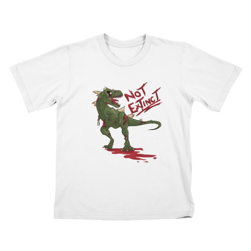 Zombie Rex Kids T-shirt by xanderlewis's Artist Shop