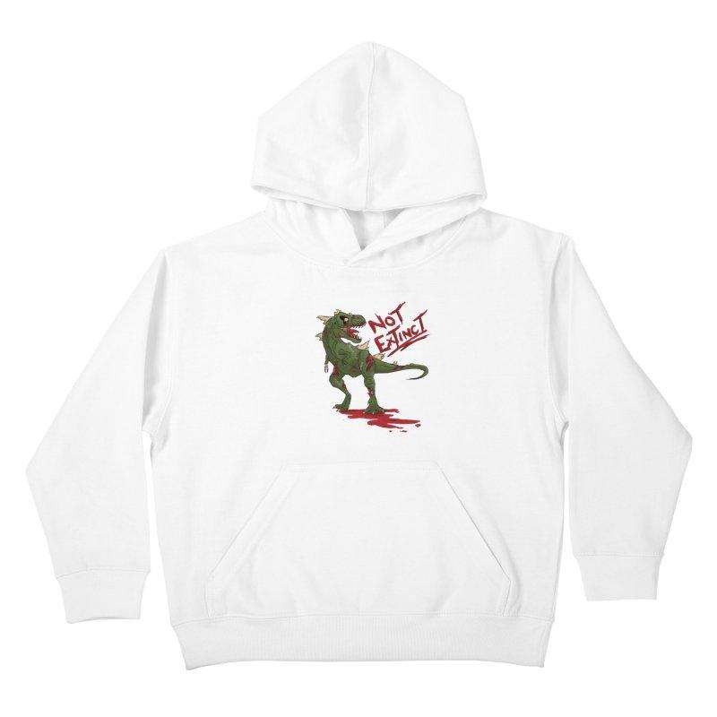 Zombie Rex Kids Pullover Hoody by xanderlewis's Artist Shop