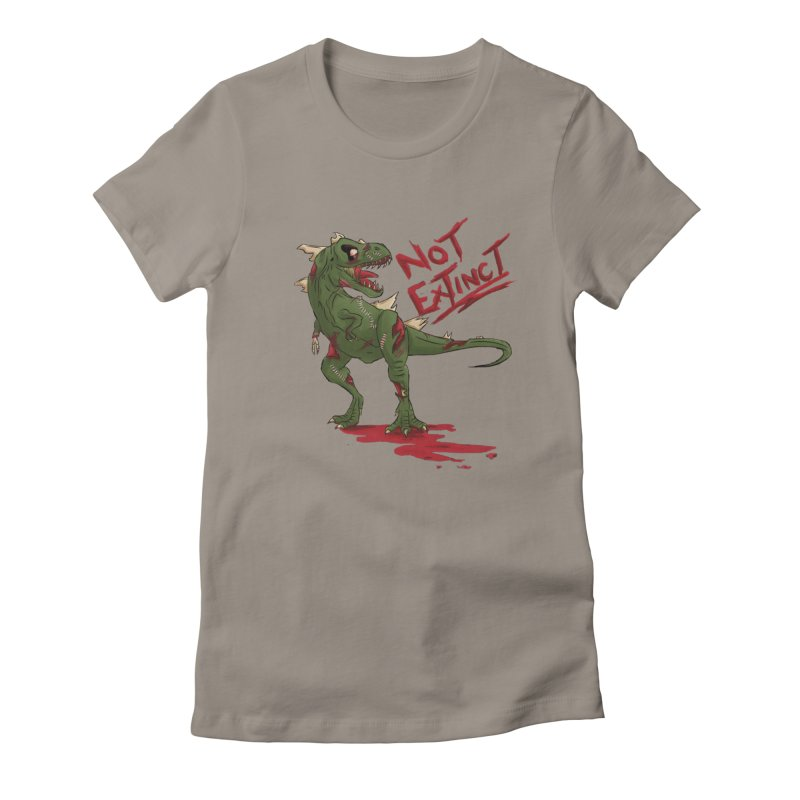 Zombie Rex Women's Fitted T-Shirt by xanderlewis's Artist Shop