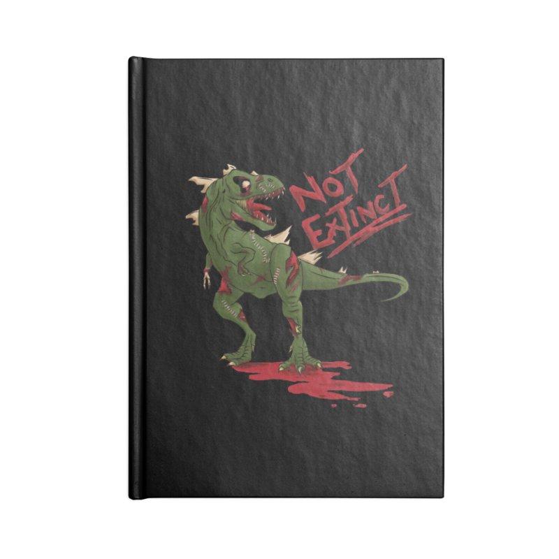 Zombie Rex Accessories Notebook by xanderlewis's Artist Shop