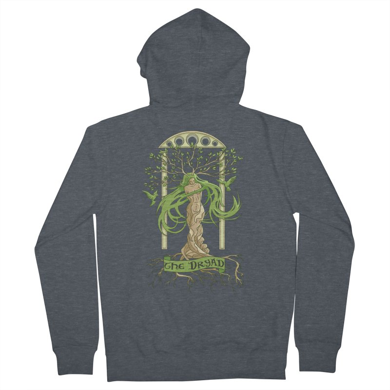 The Dryad Men's Zip-Up Hoody by xanderlewis's Artist Shop