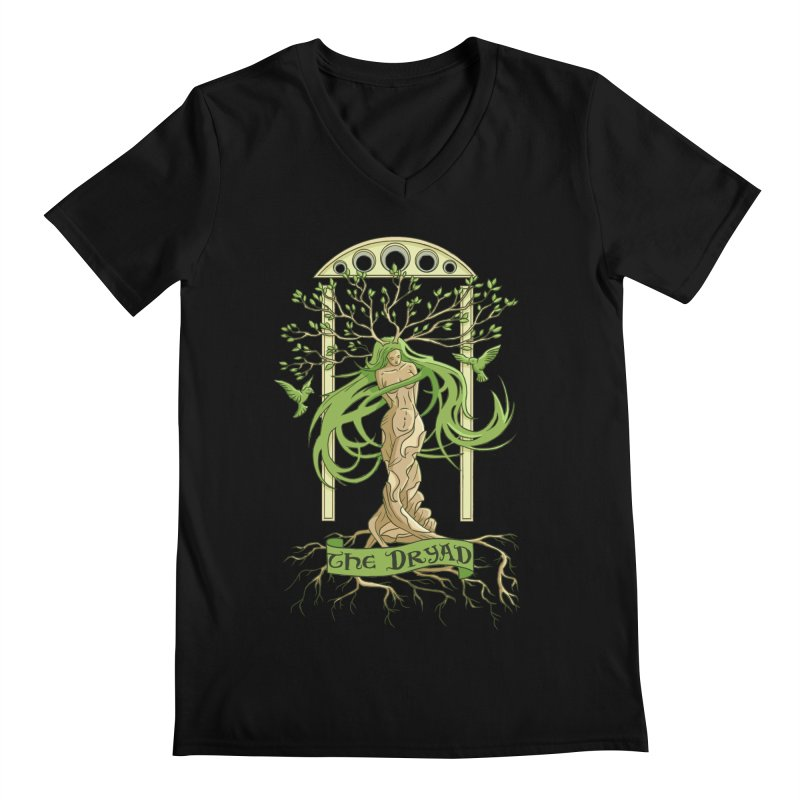 The Dryad Men's V-Neck by xanderlewis's Artist Shop