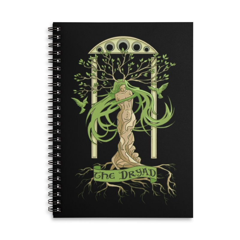 The Dryad Accessories Notebook by xanderlewis's Artist Shop