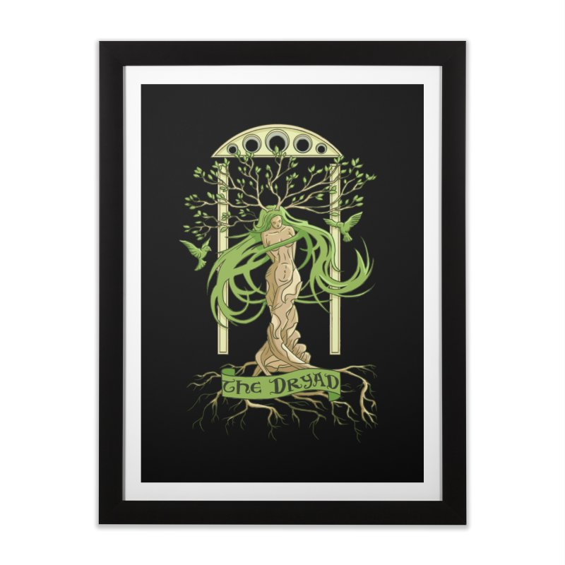 The Dryad Home Framed Fine Art Print by xanderlewis's Artist Shop