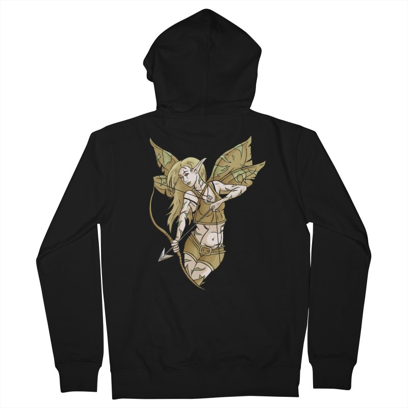 Combat Fairy Men's Zip-Up Hoody by xanderlewis's Artist Shop
