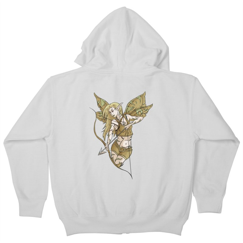 Combat Fairy Kids Zip-Up Hoody by xanderlewis's Artist Shop