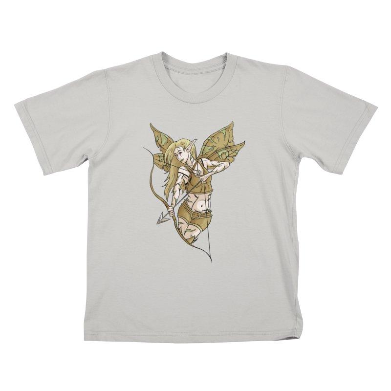 Combat Fairy Kids T-shirt by xanderlewis's Artist Shop