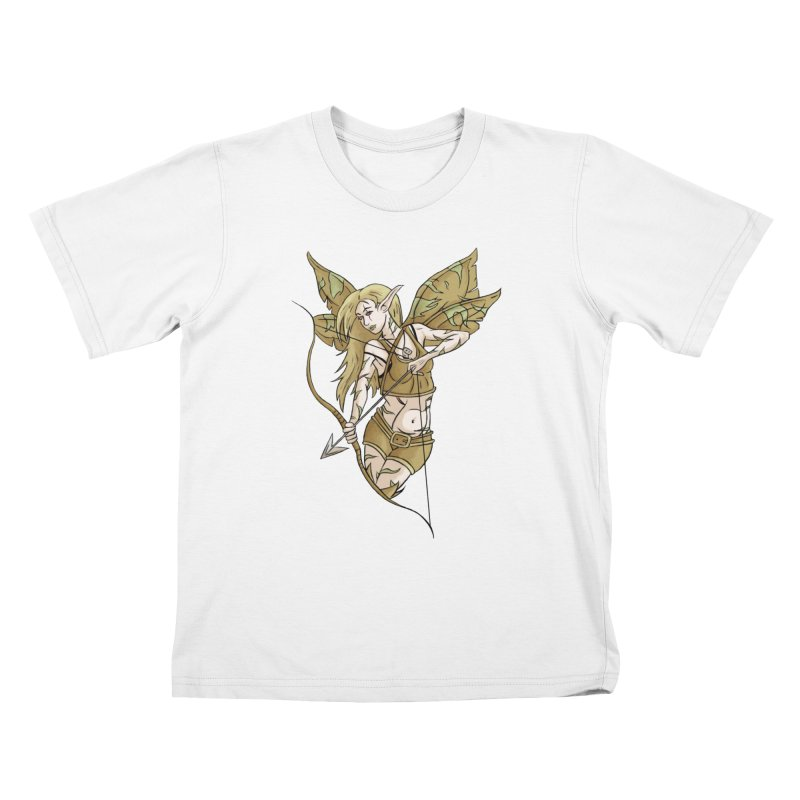 Combat Fairy Kids T-Shirt by xanderlewis's Artist Shop