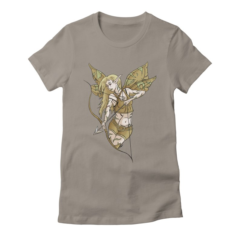 Combat Fairy Women's Fitted T-Shirt by xanderlewis's Artist Shop