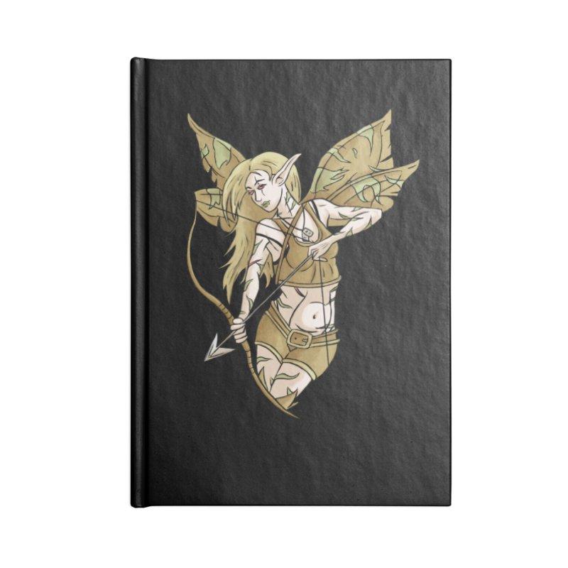 Combat Fairy Accessories Notebook by xanderlewis's Artist Shop