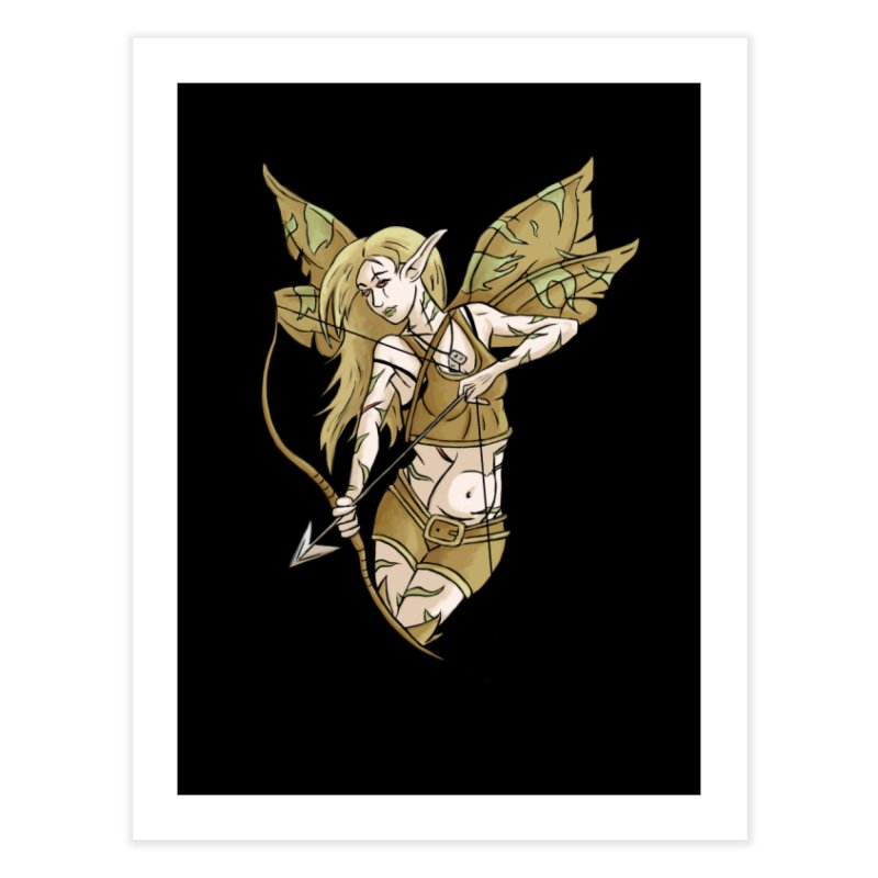 Combat Fairy Home Fine Art Print by xanderlewis's Artist Shop