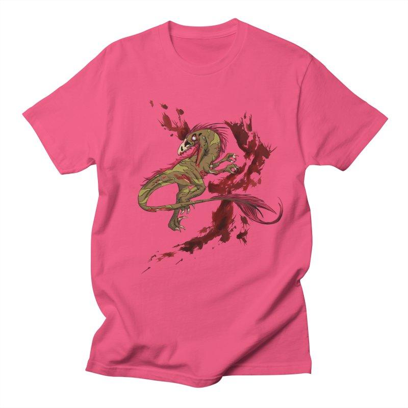 Zombie Raptor Men's T-Shirt by xanderlewis's Artist Shop
