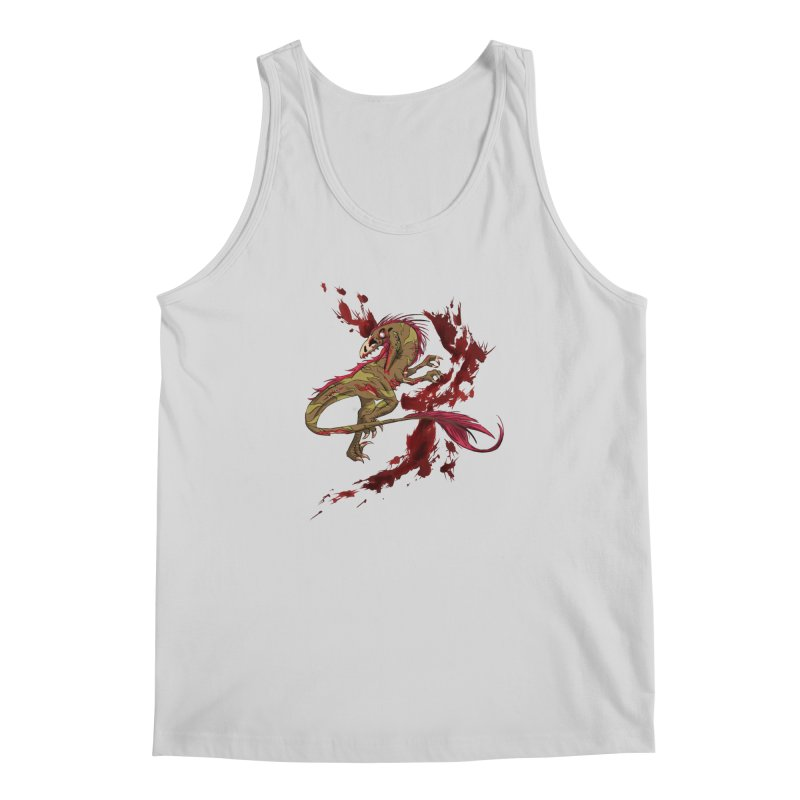 Zombie Raptor Men's Tank by xanderlewis's Artist Shop