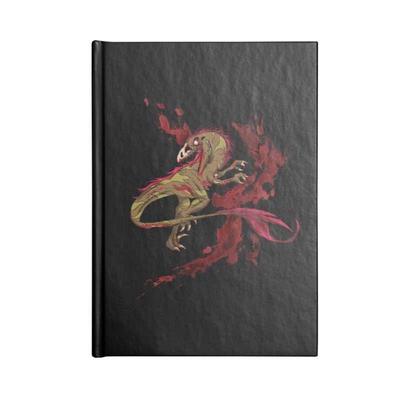 Zombie Raptor Accessories Notebook by xanderlewis's Artist Shop