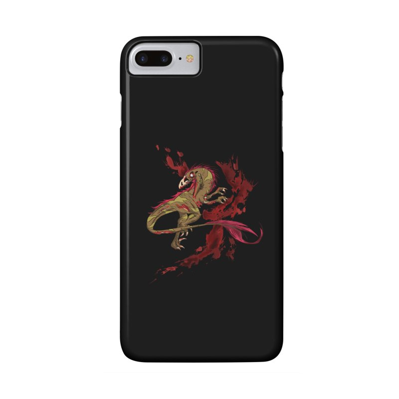 Zombie Raptor Accessories Phone Case by xanderlewis's Artist Shop