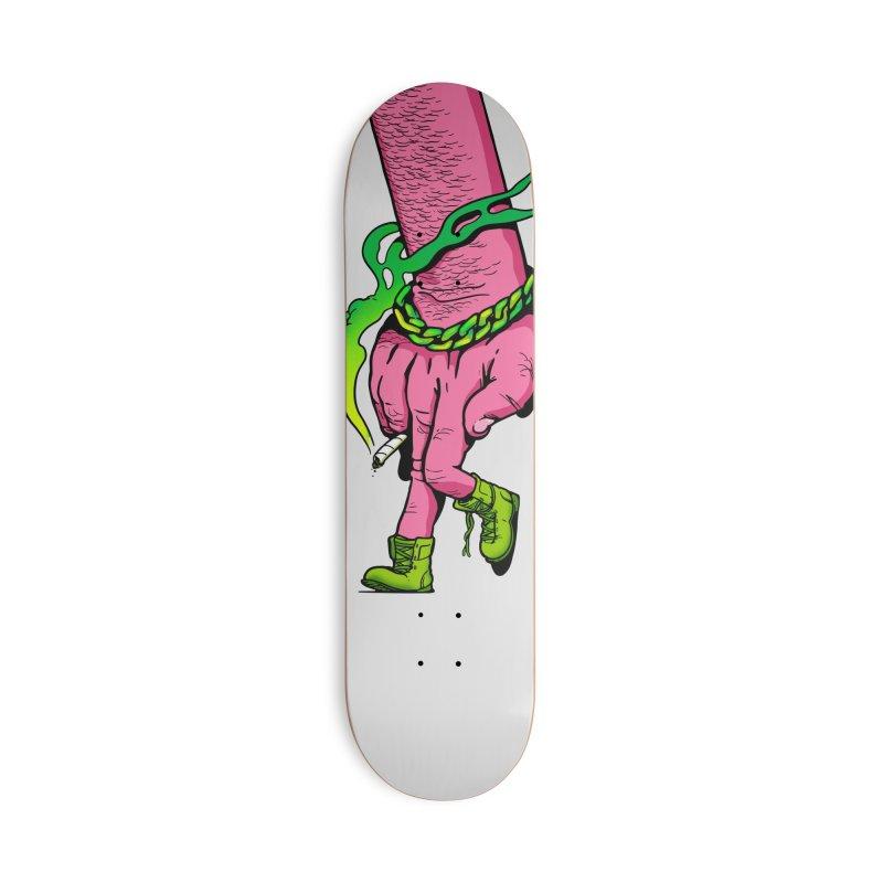 Quatre Vingt Accessories Deck Only Skateboard by xave's Shop