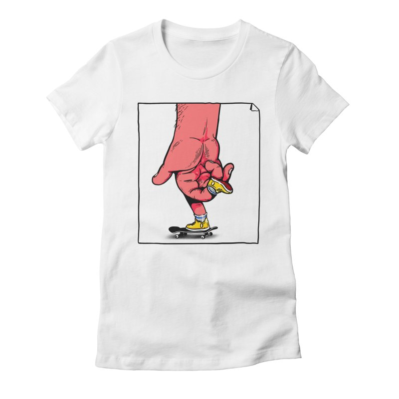 Rolling Women's Fitted T-Shirt by xave's Shop