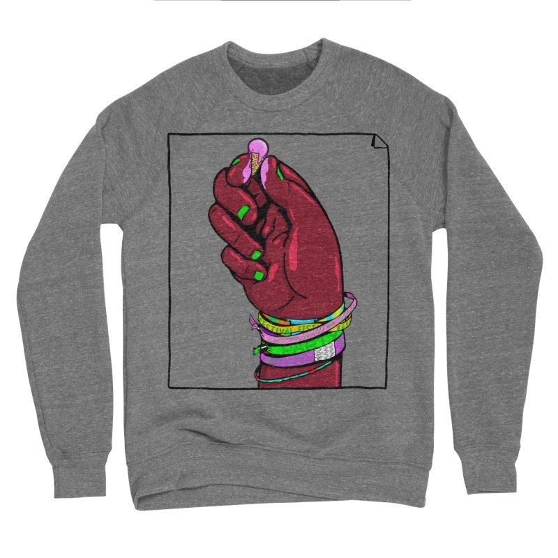 Warm Festival Men's Sponge Fleece Sweatshirt by xave's Shop
