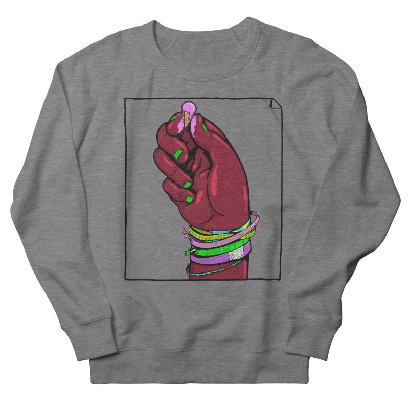 Warm Festival Men's French Terry Sweatshirt by xave's Shop