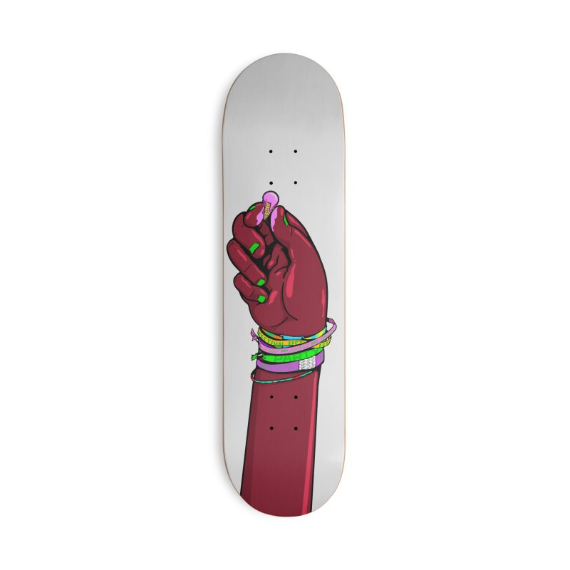 Warm Festival Accessories Deck Only Skateboard by xave's Shop