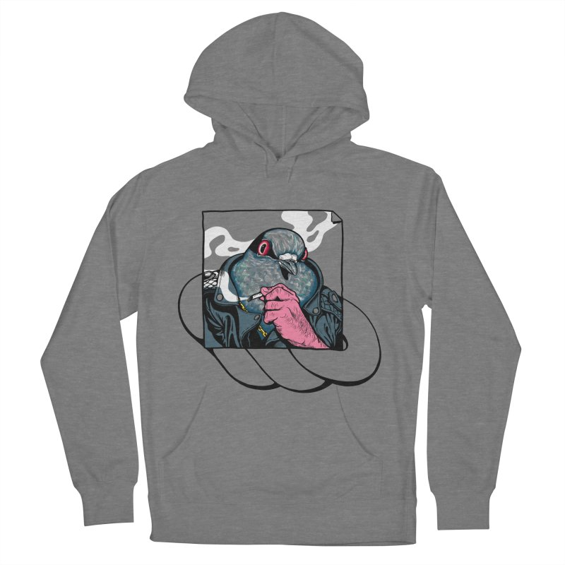 Mafia Pigeon Men's French Terry Pullover Hoody by xave's Shop
