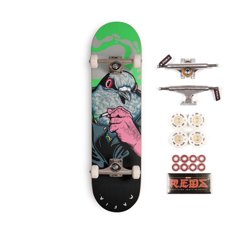 Mafia Pigeon Accessories Complete - Pro Skateboard by xave's Shop