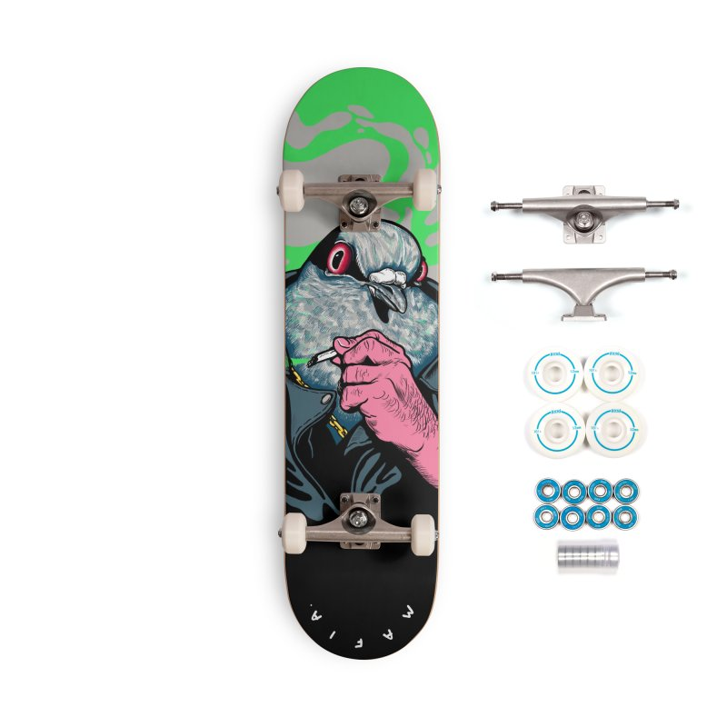 Mafia Pigeon Accessories Complete - Basic Skateboard by xave's Shop