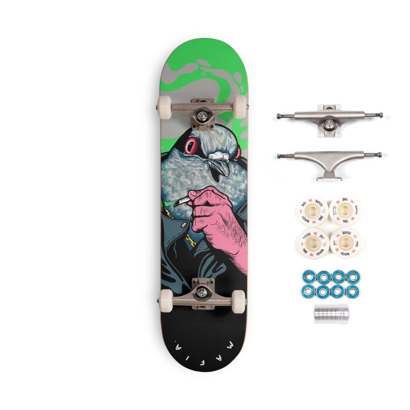 Mafia Pigeon Accessories Complete - Premium Skateboard by xave's Shop