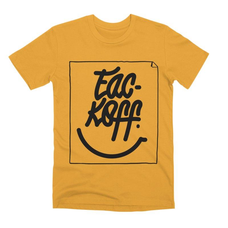 Fac-koff & smile Men's Premium T-Shirt by xave's Shop