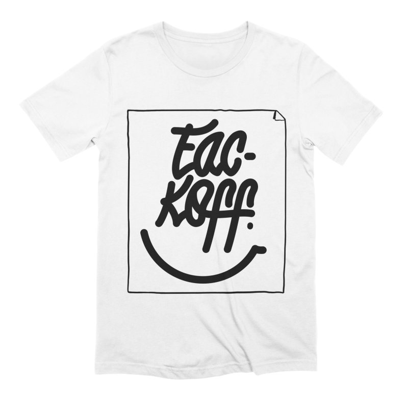 Fac-koff & smile Men's Extra Soft T-Shirt by xave's Shop