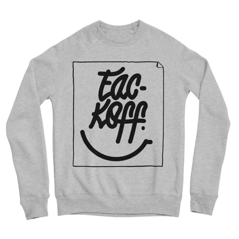 Fac-koff & smile Men's Sponge Fleece Sweatshirt by xave's Shop