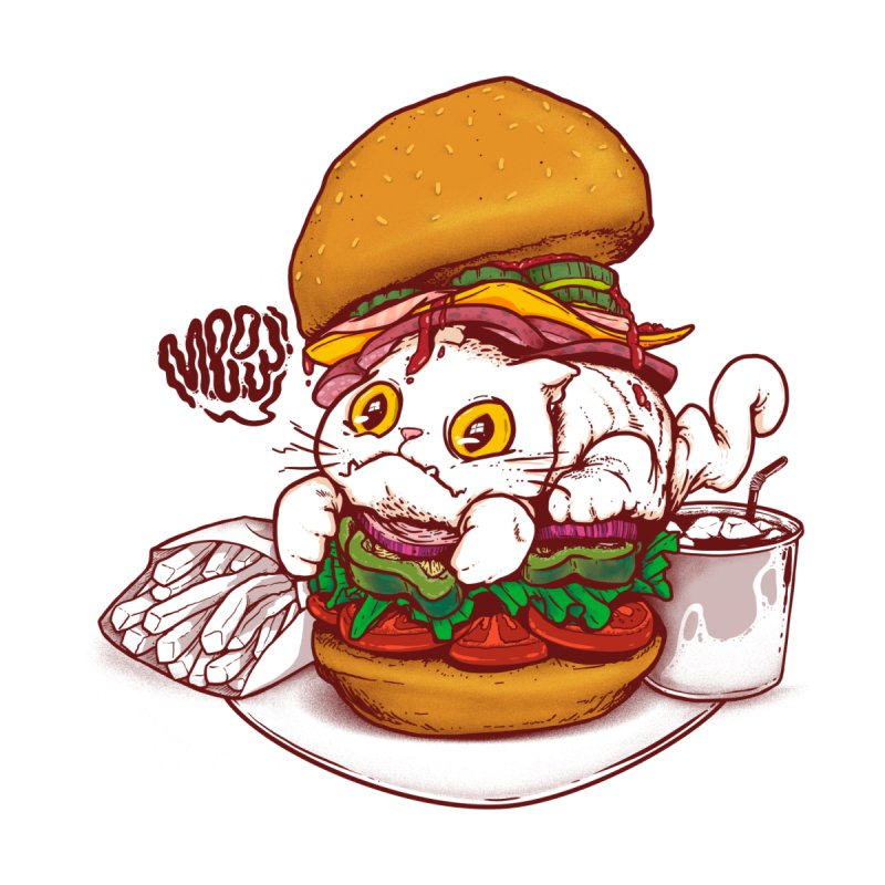 PussyBurguer by xave's Artist Shop